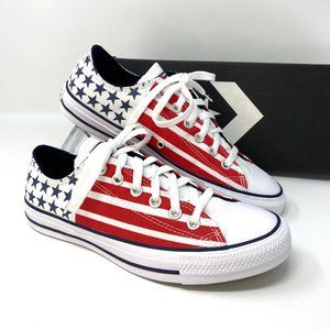 Converse Chuck Taylor AS Canvas Low Top Red Blue M